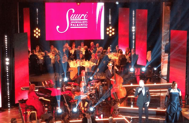 MTV Journalistigaala 2018 Tessa Virta Orkesteri