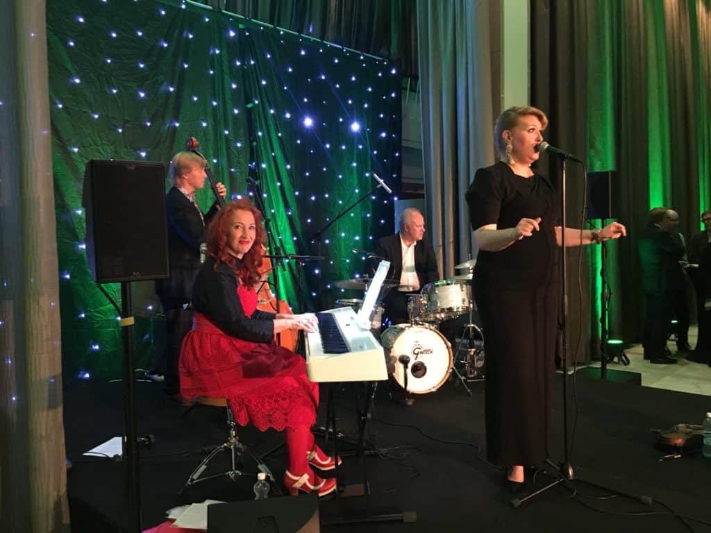 Johanna Försti ja Tessa Virta Orkesteri 23.8.18