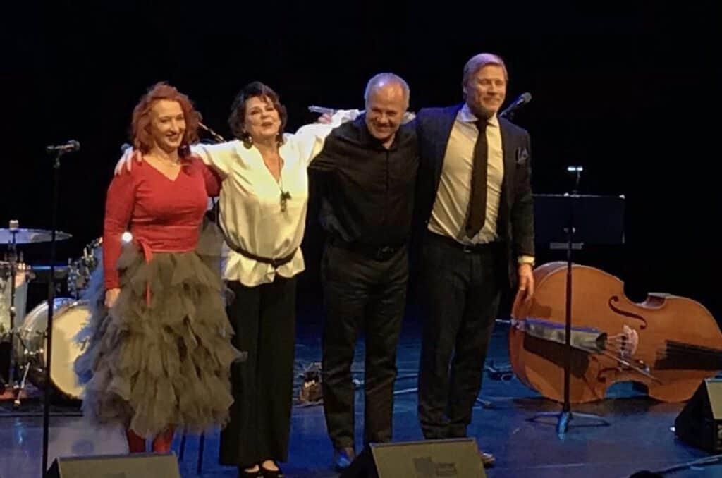 Pirkko Mannola & Tessa Virta Trio Juhlakonsertti Sellosali 27.11.19