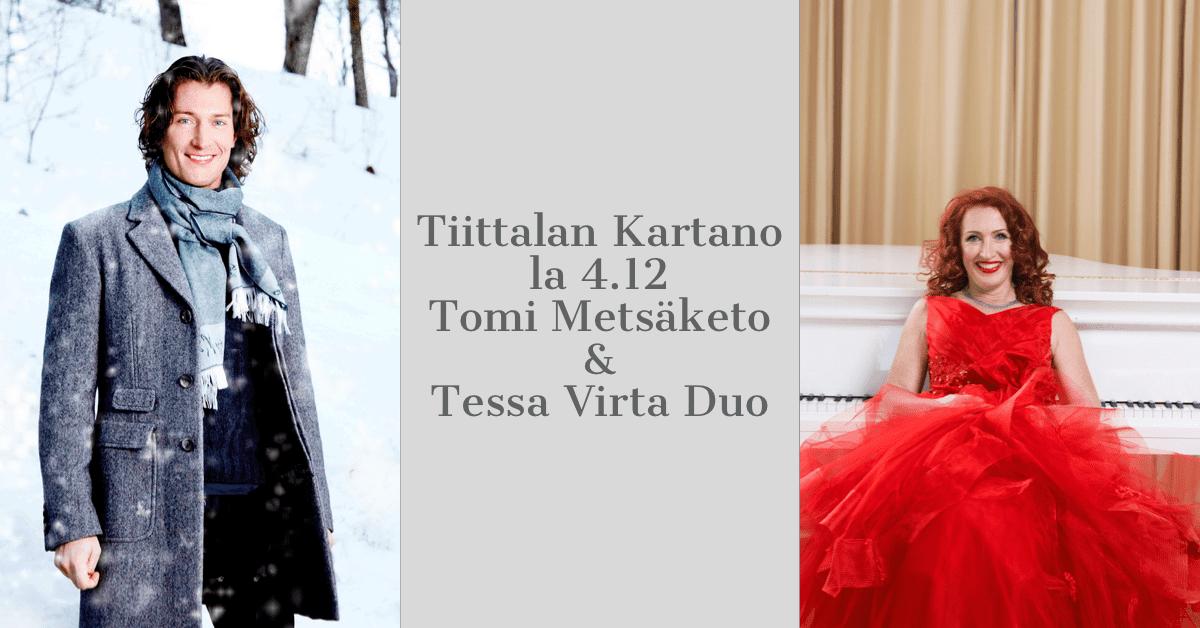 Tomi Metsaketo ja Tessa Virta